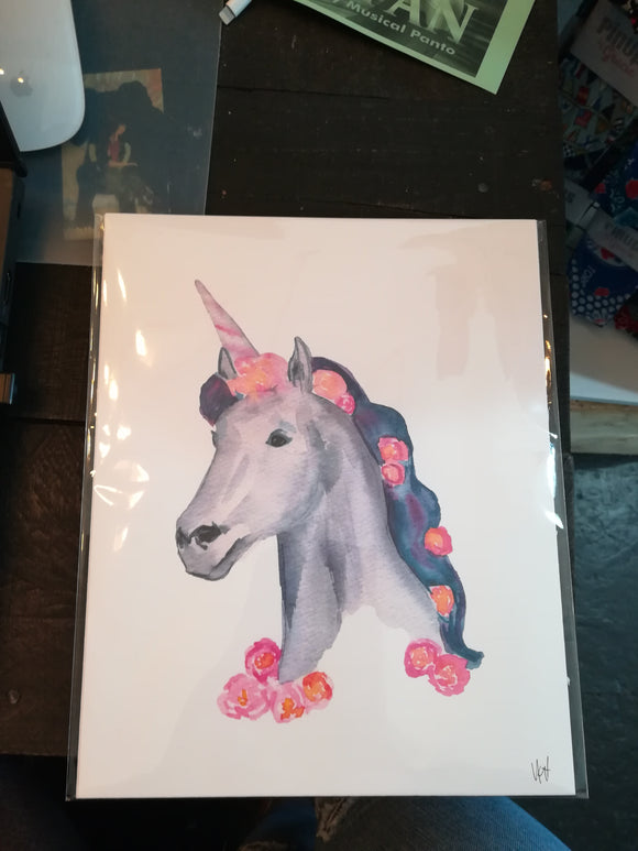 134 ($6) Unicorn - Card