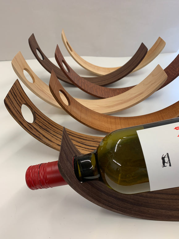 000 ($35-$40) Wine Bottle Holder - Wood