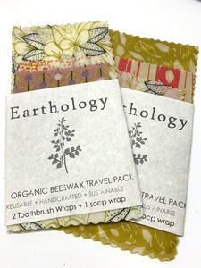 019 ($16) Travel Pack Beeswax Wraps