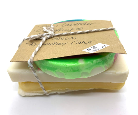 113 ($8) Soap - Sampler - 4/5 Slices