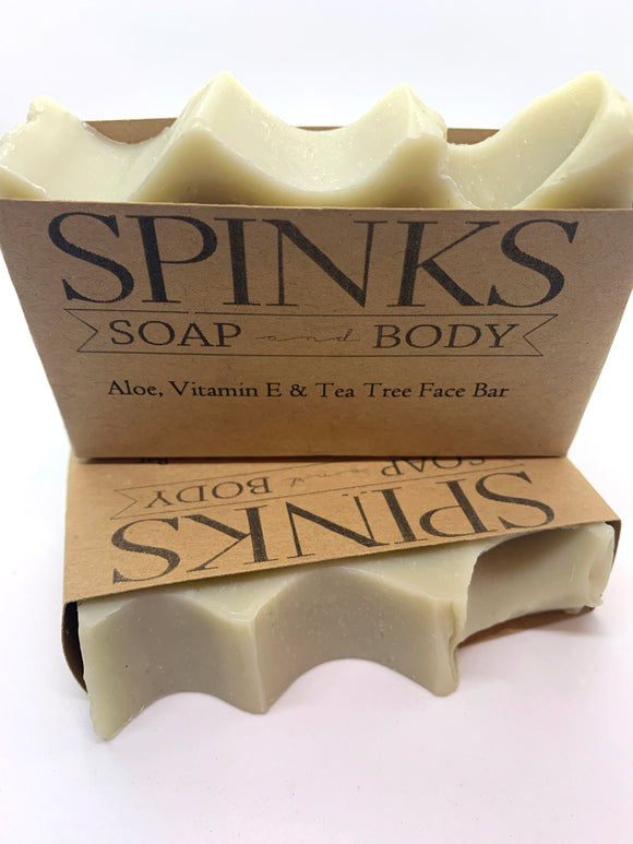 113 ($7) Soap - Face - Aloe Vitamin E and Tea Tree