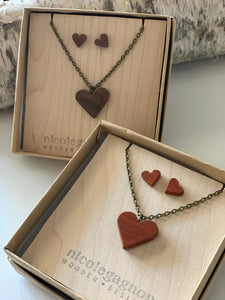 111 ($50) Heart Sets - Necklace and Earrings