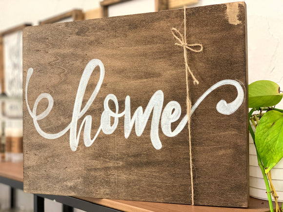 141 ($40) Sign - Wood - Home