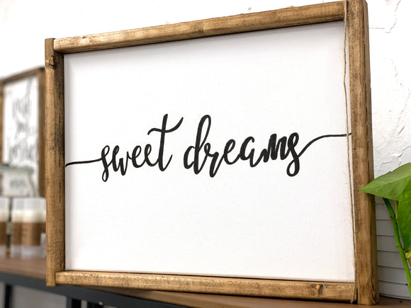 141 ($50) Sign - Sweet Dreams