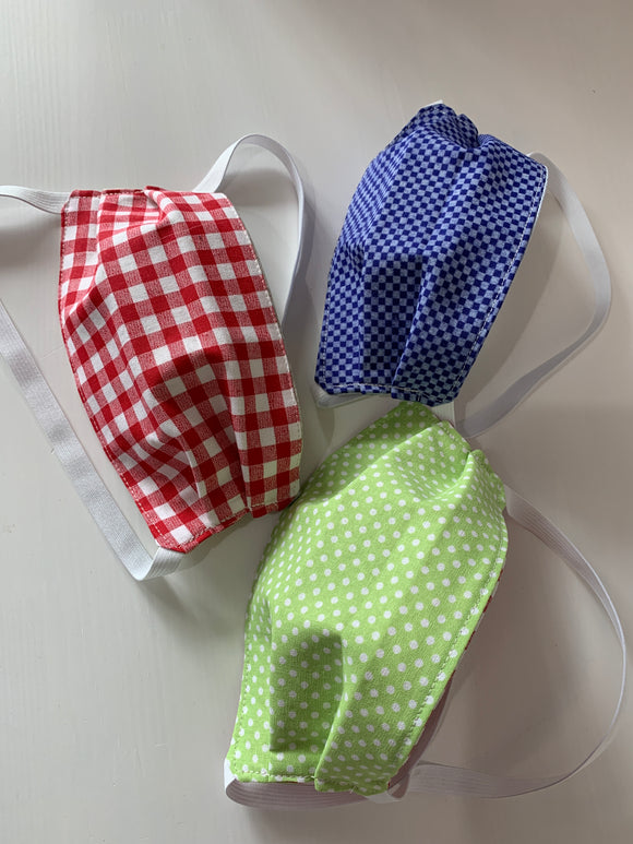 022 ($15) Face Mask - Kid - Reversible