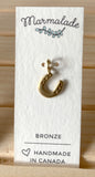 071 ($22) Tiny Sculpted Charms - Bronze