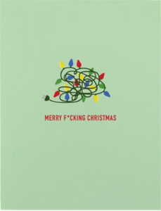 032 ($6) Card - Merry F-ing Christmas