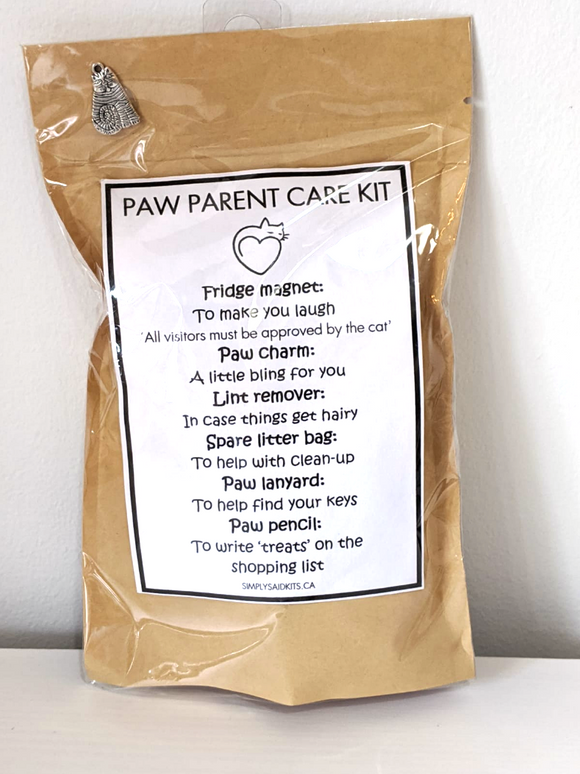 142 ($14) Paw Parent Care Kit - Cat