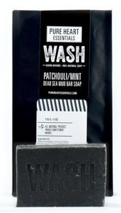 068 ($8) Wash - Patchouli Mint and Dead Sea Mud
