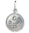 071 ($32) Nature Coin - Forest - Silver