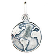 071 ($32) Nature Coin - Earth - Silver