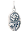 071 ($32) Nature Coin - Daisy - Silver