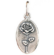 071 ($32) Nature Coin - Rose - Silver