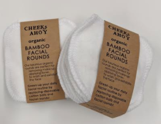 073 ($14) Bamboo Facial Rounds - 8 Pk