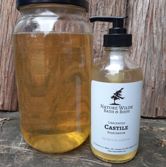 047 ($15) REFILL - Unscented Castile Soap Gel - 500mL
