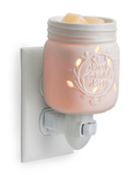 000 ($25) Wax Melt Warmer - Mason Jar - Home Sweet Home