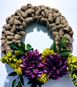 146 ($60) Wreath - Sweet Solitude