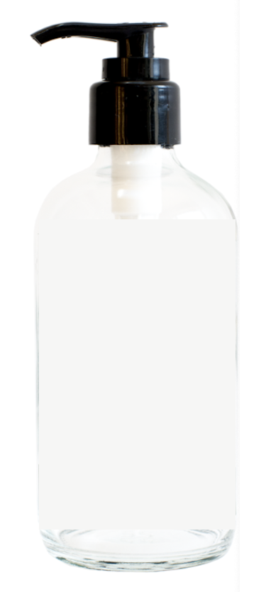 000 ($5) Glass Pump Bottle - 500ml