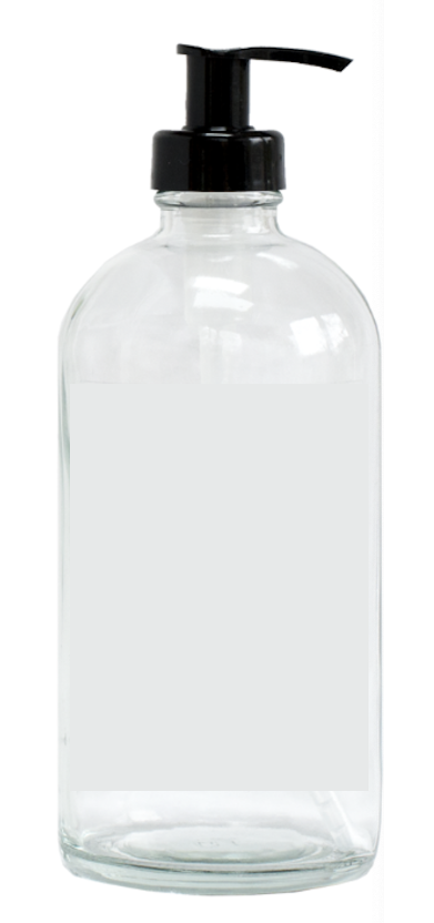 000 ($5) Glass Pump Bottle - 250ml