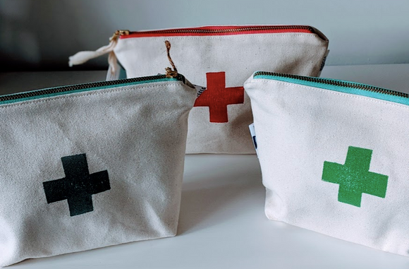000 ($25) First Aid Pouch - Travel Pouch