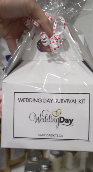 142 ($25) Wedding Day Survival Kit