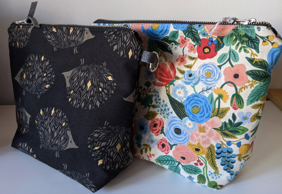 126 ($39) Travel Pouch - Medium Bag - Fabric