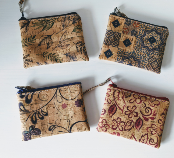 126 ($25) Cork Coin Purses