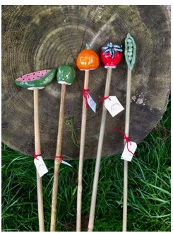 112 ($20) Vegetable Garden Sticks