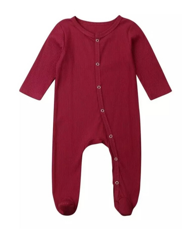 233 ($22) Cotton Button Footie Sleepers