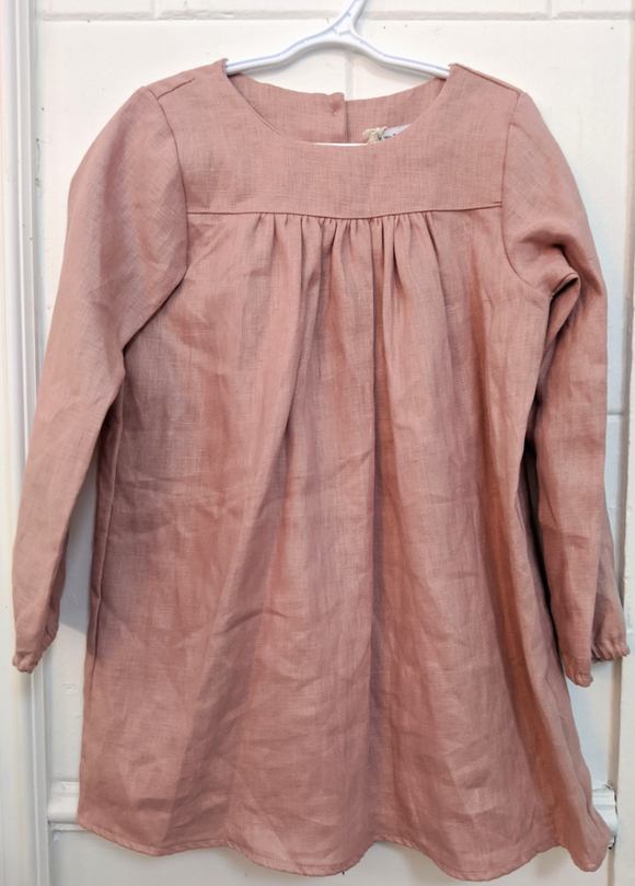 140 ($50) Linen Dresses - Pink - Various Sizes