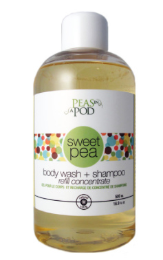 039 ($40) Sweet Pea Body Wash Concentrate Refill - 500ml