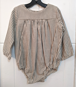 140 ($50) Linen Rompers - Pinstripe - Various Sizes