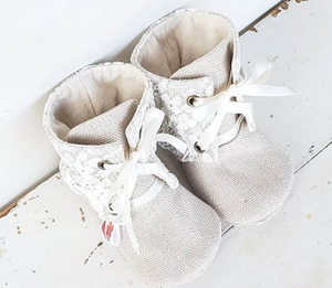 235 ($48) Lace Ankle Boots - 6-9mths