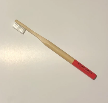 037 ($8) Toothbrush - Adult - Christmas Red