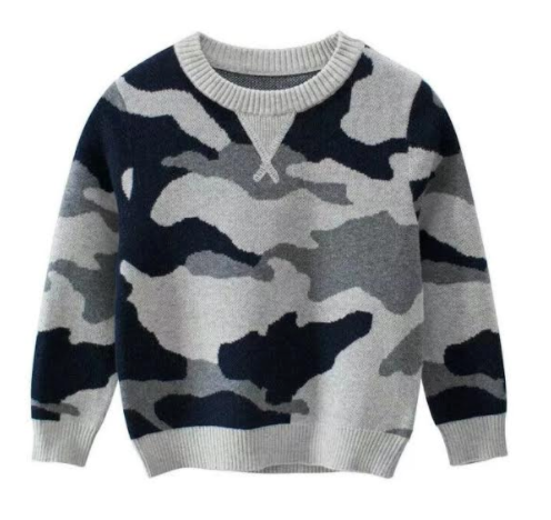 233 ($30) Boys - Camo Sweater