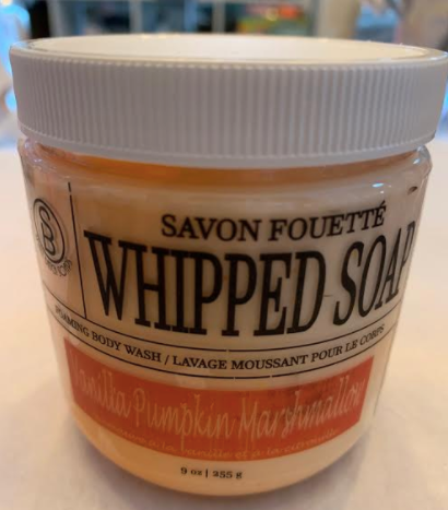 078 ($20) Whipped Soap - Vanilla Pumpkin Marshmallow