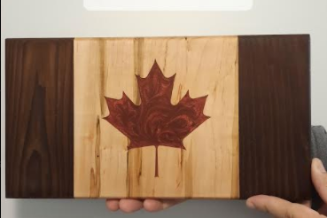 115 ($120) Canadian Flags