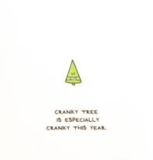 059 ($6.25) Cranky Tree is Especially Cranky this Year