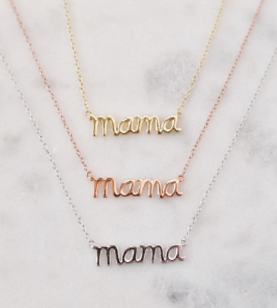 133 ($52) Necklace - Mama
