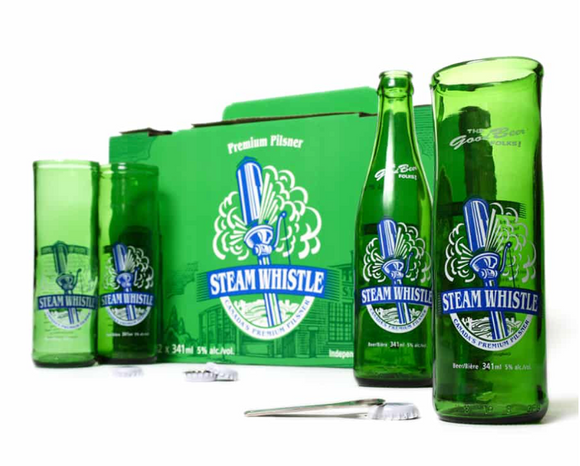 028 ($25) Steam Whistle Beer Glass