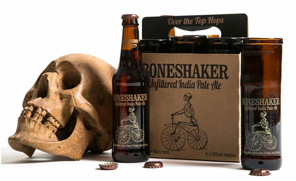 028 ($25) Boneshaker Beer Glass