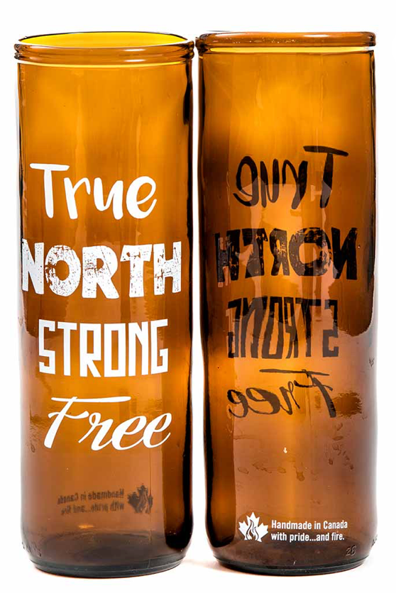 028 ($25) True North Beer Glass