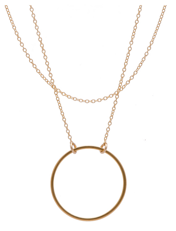 025 ($70) Dreamer Necklace - Gold