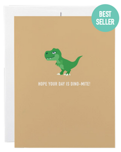 032 ($6) Card - Hope Your Day is Dino-Mite
