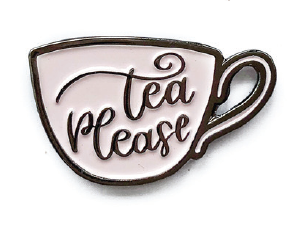 044 ($12) PIN - Tea Please