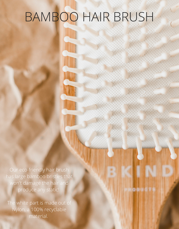 048 ($22) Hair Brush - Bamboo