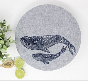 056 ($32) Whales - Set of 2