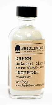 015 ($17) Face Mask - Green - Nourish