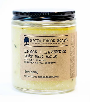 015 ($20) Body Scrub - Lemon + Lavender
