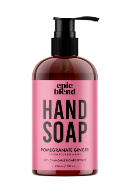 006 ($14.99) Hand Soap - Pomegranate Ginger